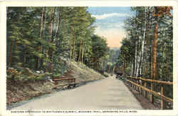 Eastern Approach To Whitcomb's Summit, Mohawk Trail