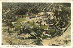 An Aeroplane View of U. Of W. Campus