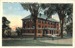 Roberts Hall, Colby College Postcard