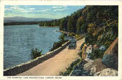 The Turnpike, Lake Megunticook Postcard