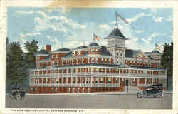 The New Century Hotel Postcard