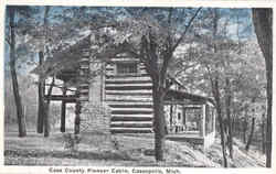Cass County Pioneer Cabin