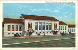 Union Pacific Station Postcard