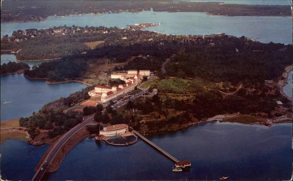 Aerial View of Wentworth By-the-Sea Portsmouth New Hampshire