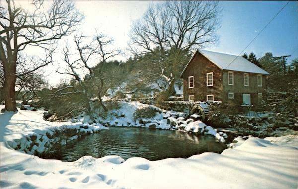 The Old Grist Mill (1874), West Brewster Cape Cod Massachusetts