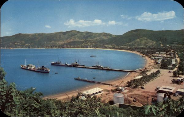 Icacos Navy Base in Acapulco Mexico