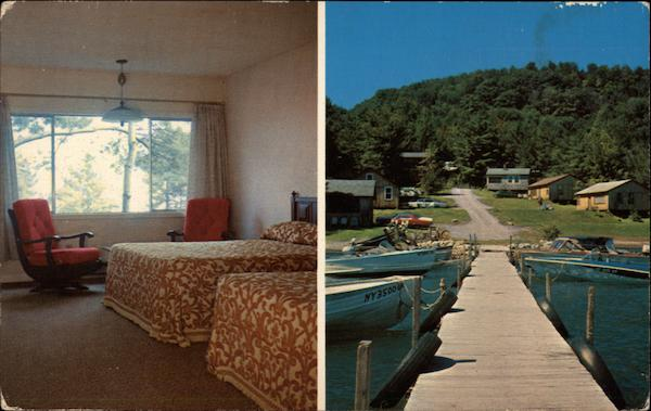 Windward Motel and Cottages on Otsego Lake Cooperstown New York