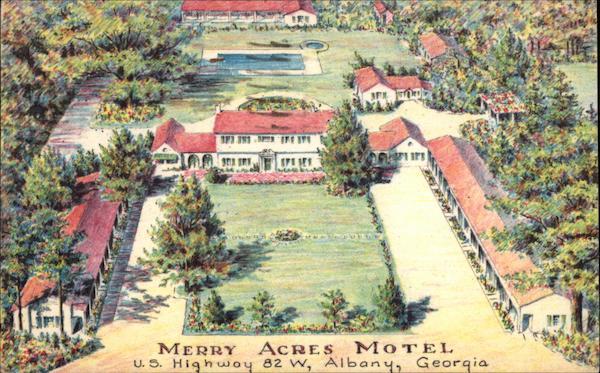 Merry Acres Motel Albany GA