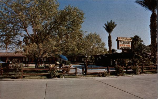El Rancho Motor Hotel in Calexico