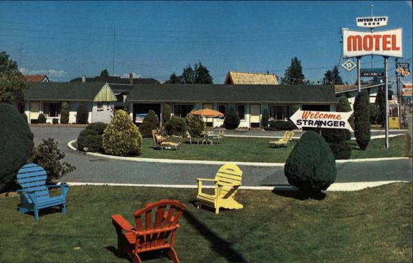Inter-City Motel - South Burnaby Vancouver Canada British Columbia
