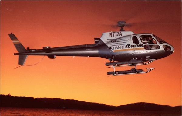 Helicopter - Channel 7 News San Francisco California