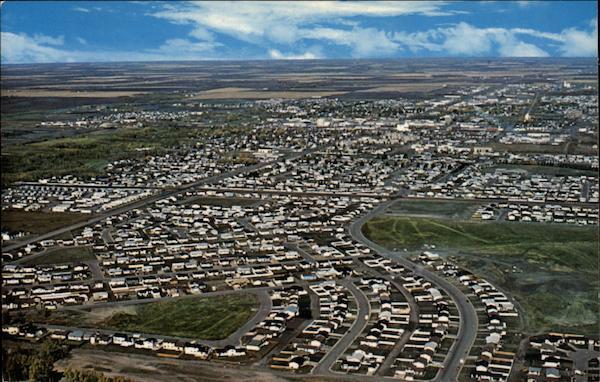 Grande Prairie (AB) Canada  city photos : Aerial View of Grande Prairie Canada Alberta