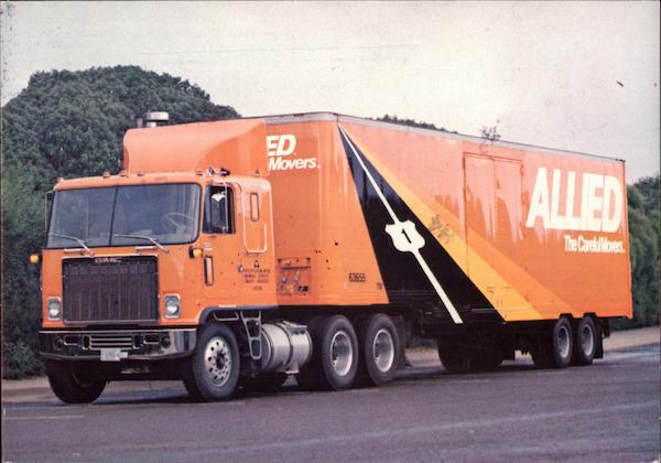 Allied - The Careful Movers Trucks Modern (1970's to Present)