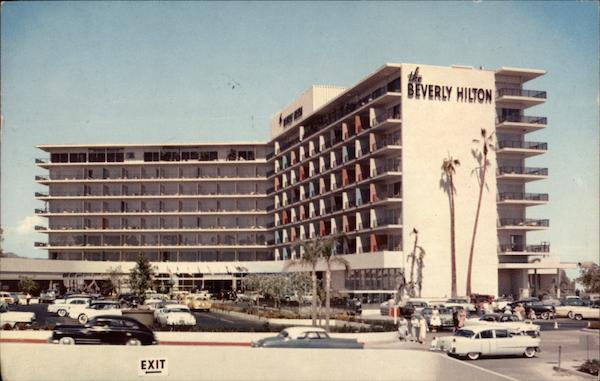 The Beverly Hilton Hotel in Beverly Hills California