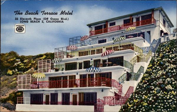 The Beach Terrace Motel 33 Eleventh Place Long California