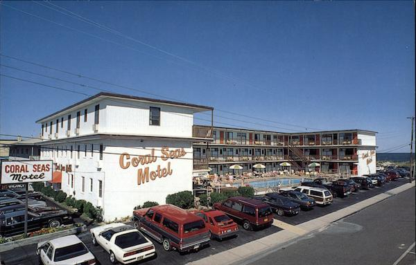 Coral Seas Motel Beach Haven New Jersey