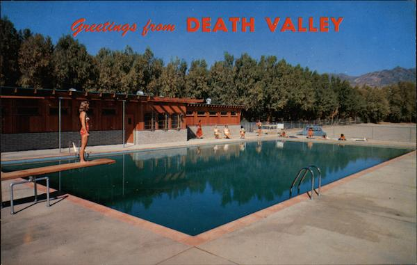 Swimming pool furnace creek ranch death valley ca for Piscine vallet
