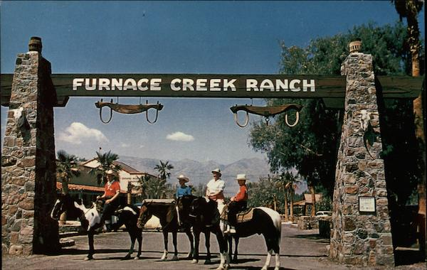 Furnace Creek Ranch Death Valley Ca