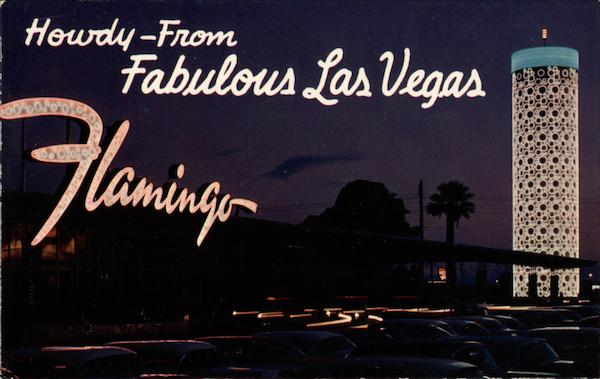 The Hotel Flamingo - on the strip Las Vegas Nevada