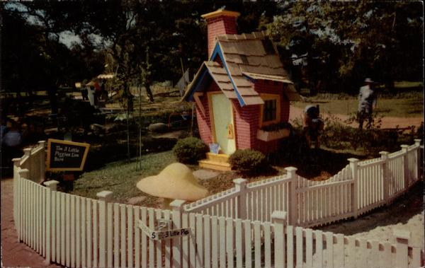 Brick House of the Three Little Pigs, Children's Fairyland Oakland California