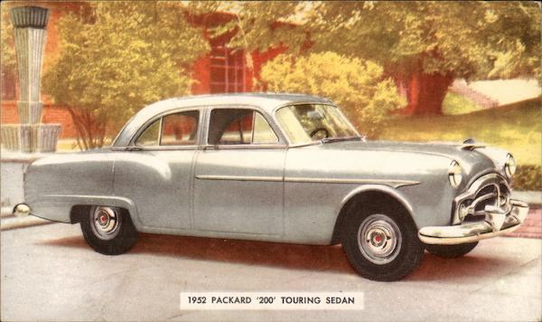 1952 Packard '200' Touring Sedan Cars