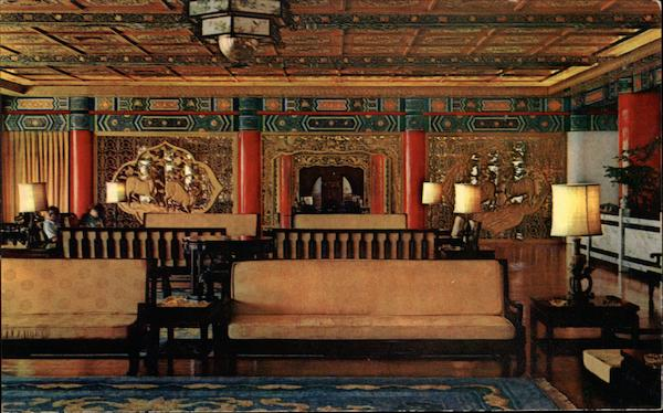 First Floor Lounge, The Chi-Lin Pavilion, The Grand Hotel Taipei Taiwan