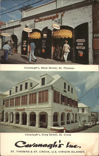 Cavanagh's Inc - Main Street St. Thomas Virgin Islands