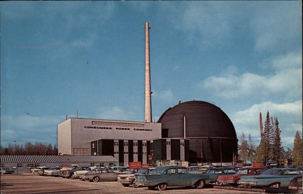 Consumers Power Company's Big Rock Point Nuclear Power Plant Charlevoix Michigan