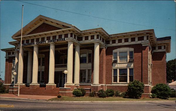 Columbus County Courthouse Whiteville North Carolina