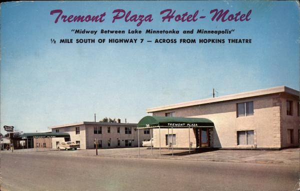 Fremont Plaza Hotel Motel Hopkins Minnesota