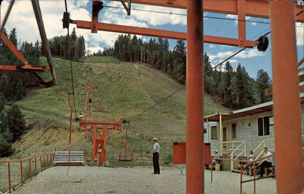 Red River's Famous Ski Lift New Mexico