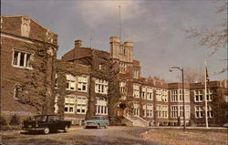 Administration Bldg., Ontario School for the Deaf Postcard