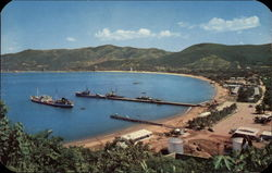Icacos Navy Base in Acapulco Postcard