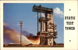 Static Firing Test Tower, Marshall Space Flight Center