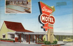 Arrow Motel and Apartments in Odessa Postcard