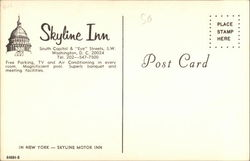 Skyline Inn, South Capitol & Eye Streets, S.W