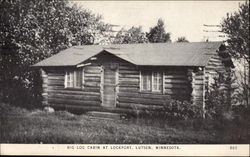 Big Log Cabin at Lockport