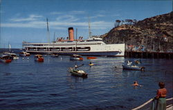 SS Catalina at Rest at Moorings