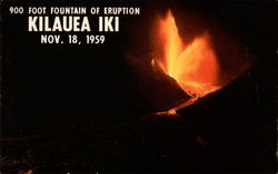 900 Foot Fountain of Eruption