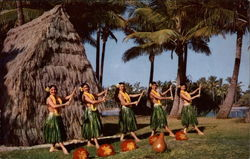 Five Hula Dancers