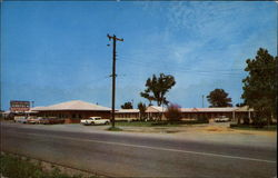 Southland Motel and Restaurant in North Lebanon Postcard