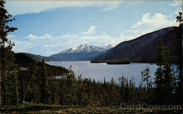 Muncho Lake Fort Nelson Canada British Columbia