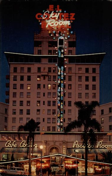 The El Cortez Hote San Diego California
