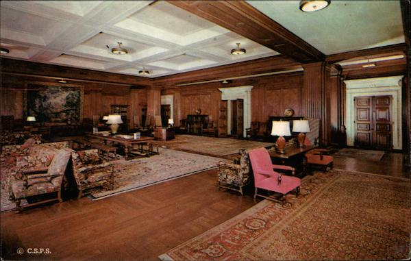 Reception Room of Christian Science Publishing Society Boston Massachusetts