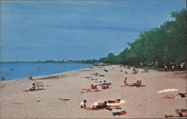 Public Beach East Tawas Michigan