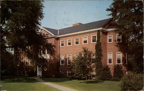 Joseph Henry Apple Library at Hood College Frederick Maryland