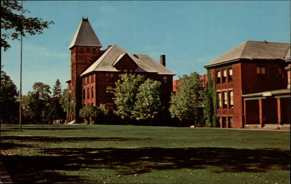 Administration Building and Campus of the Michigan College of Mining and Technology Houghton