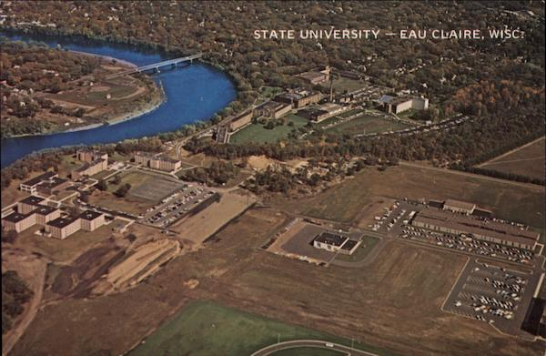 Eau Claire State University Wisconsin G. R. Brown Company