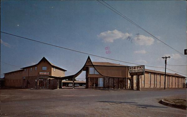 Kon Tiki Motel And Apts Universal City Tx
