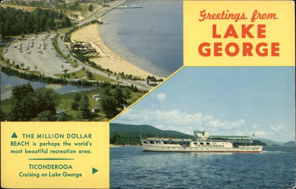 Greetings from Lake George The Adirondacks New York